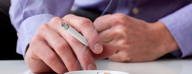 喫煙が男性の体に与える悪影響