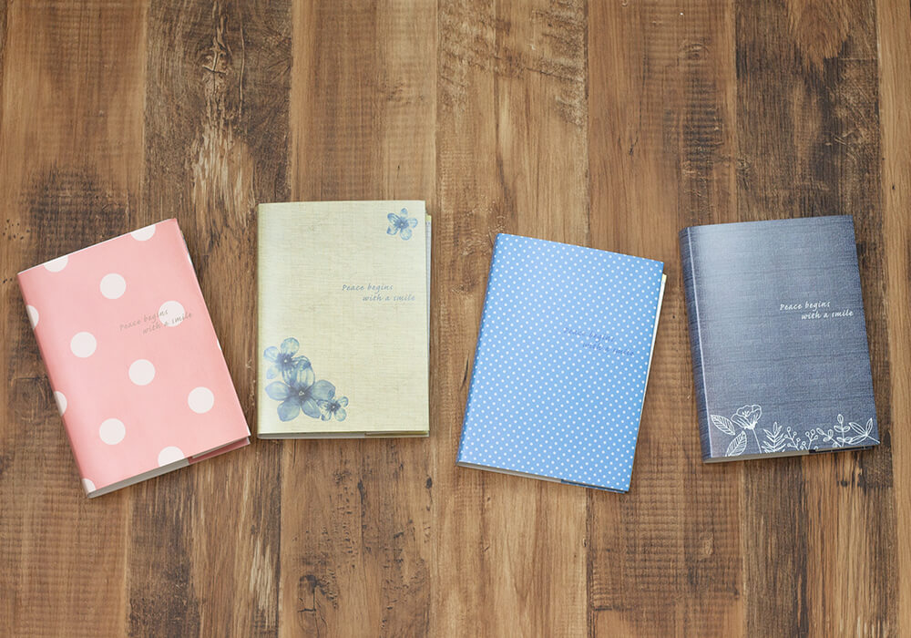 妊活手帳®︎は4種類カラーがございます